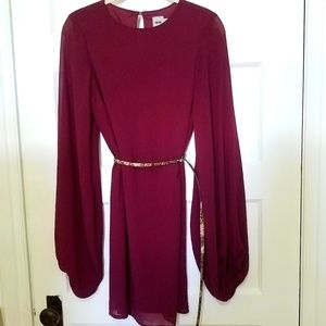 ASOS - Maroon Dress